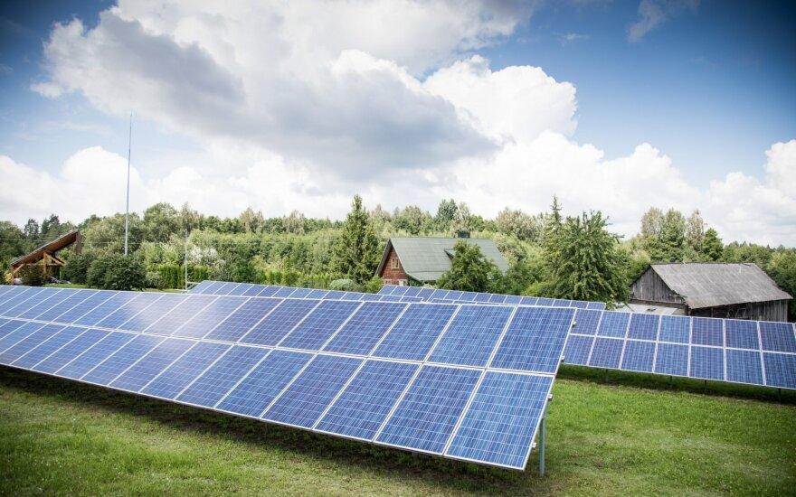 Vyriausybė svarstys naują atsinaujinančios energetikos plėtros modelį