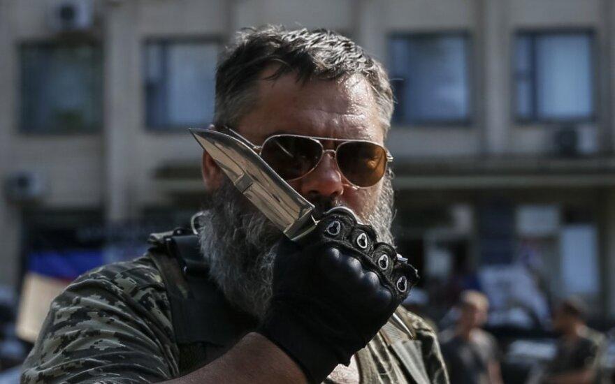 Ukrainos separatistai veržiasi į Rusiją