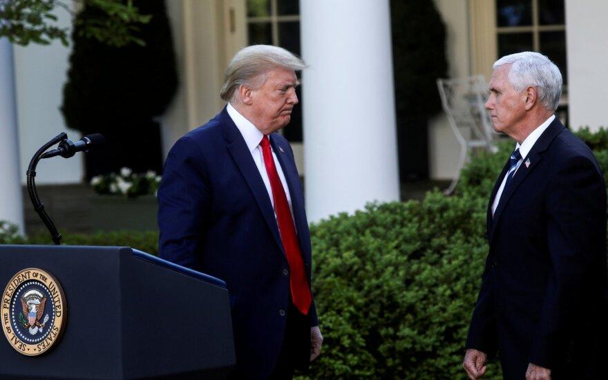 Donaldas Trumpas, Mike'as Pence'as