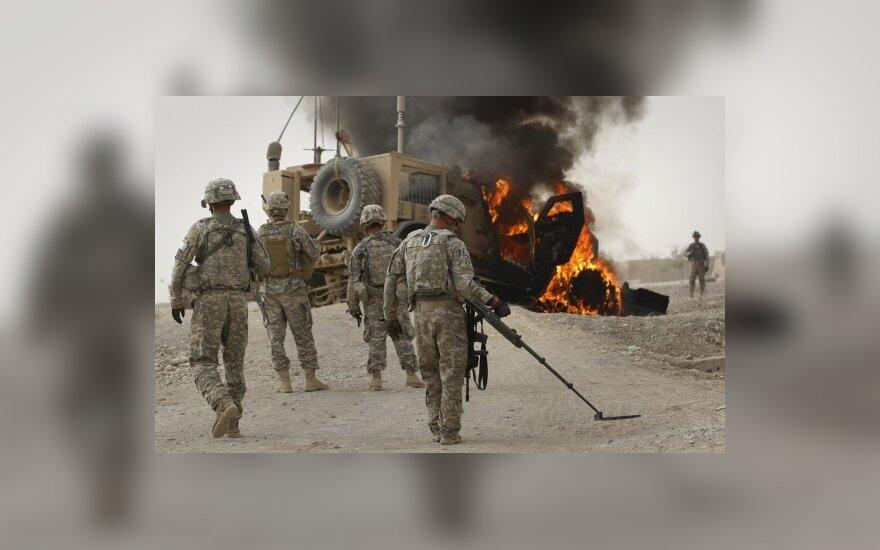 Afganistane talibai pagrobė du JAV karius