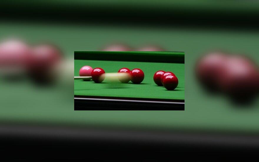"""""""China Open"""" turnyro finale P.Ebdonas nugalėjo J.Higginsą"""