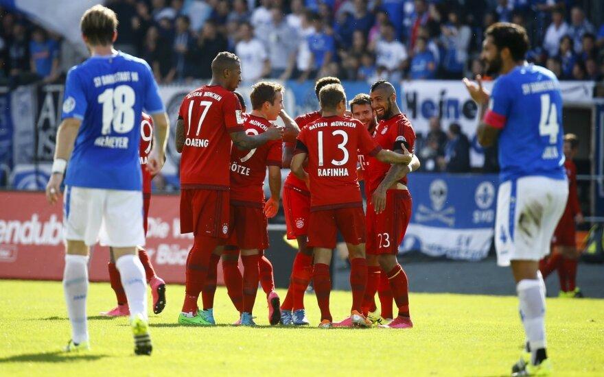 "Miuncheno ""Bayern"" ekipa vėl šventė pergalę"