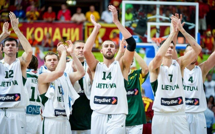 Sunki, bet pirma pergalė: rungtynių su makedonais apžvalga