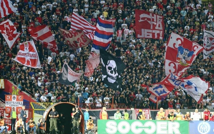 "UEFA Čempionų lyga: ""Crvena Zvezda"" - ""Sūduva"""