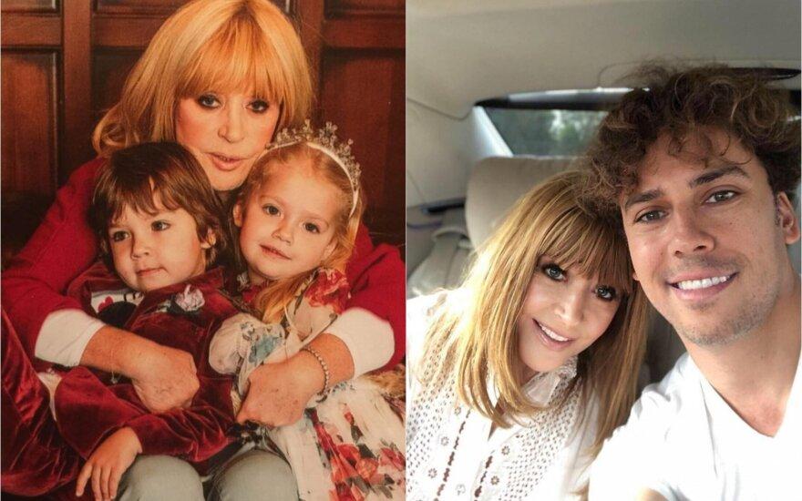 Alla Pugačiova su šeima