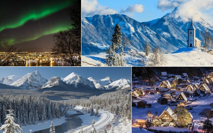 11 įspūdingiausių miestų, kuriuos reikia aplankyti žiemą