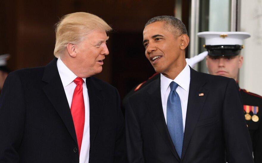Šimtas D. Trumpo dienų: užsienio politikos klausimais elgėsi kaip normalus prezidentas?