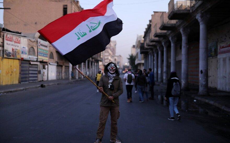 Per atsinaujinusius susirėmimus Bagdade sužeisti 27 žmonės