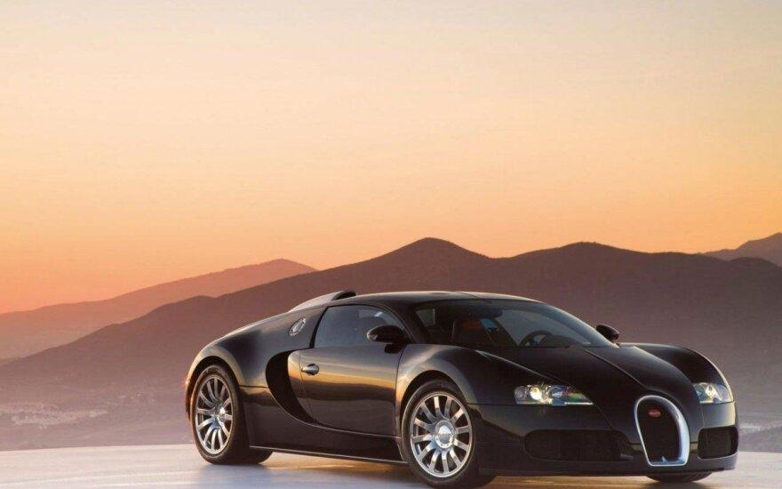 """Kaip atrodo """"Bugatti Veyron"""" mestas iššūkis"""