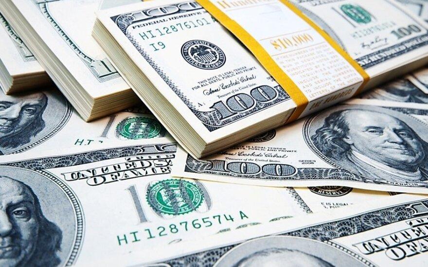 JAV doleris atsigavo po paskelbtų JAV darbo rinkos duomenų