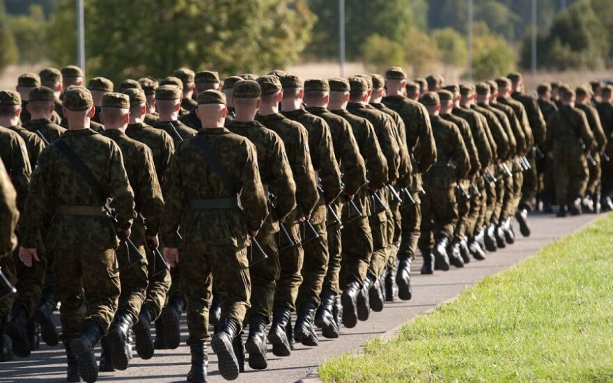 Lithuanian defence minister wants conscripts' families and employers fined for not passing summons