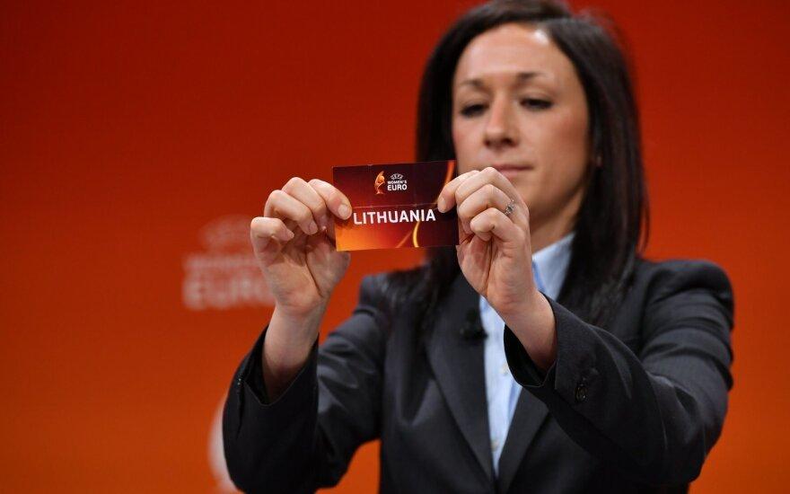 Europos moterų futbolo čempionato burtų ceremonija