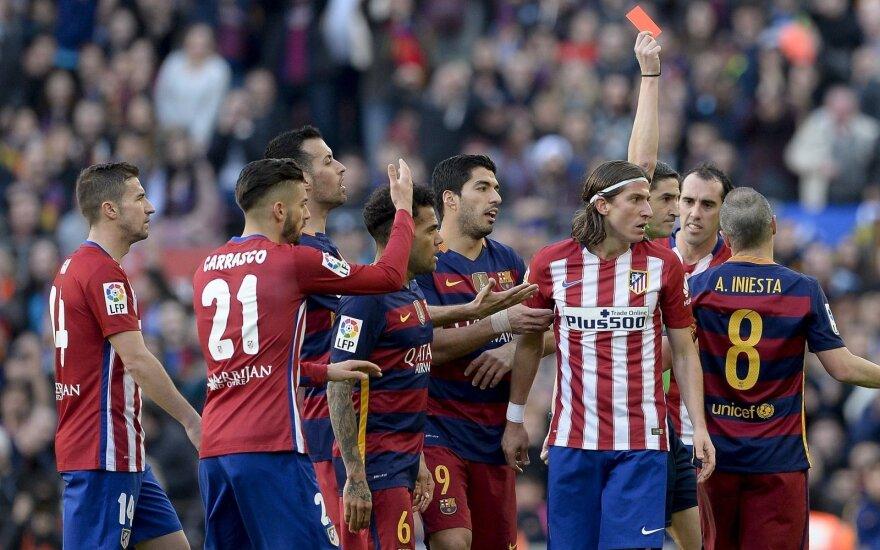 """""""Barcelonos"""" ir """"Atletico"""" dvikova"""