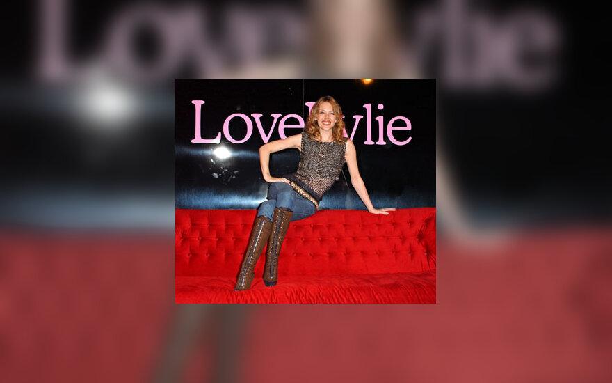 """Kylie Minogue kolekcijos """"Love Kylie"""" pristatyme"""