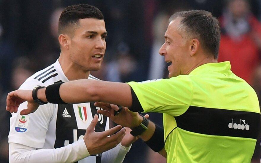 """""""Serie A"""", """"Juventus"""" - """"Sampdoria"""" rungtynės"""