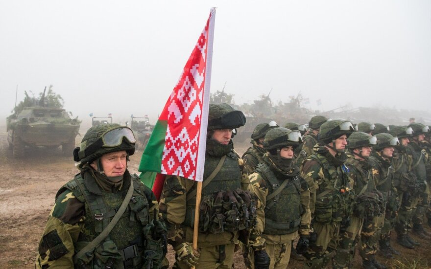 Belarussian troops