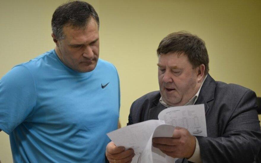 Virgilijus Alekna ir Aleksas Stanislovaitis