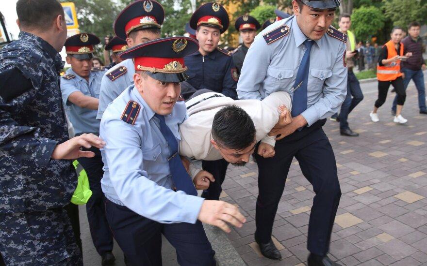 Protestas prieš naują valdžią Kazachstane
