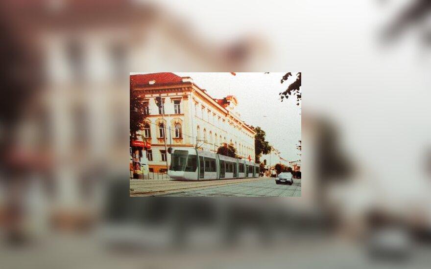 Tramvajus Vilniuje