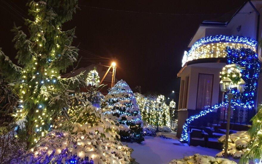 Lekavičių kieme - tikros Kalėdos