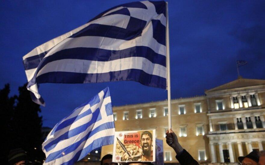 Prasidėjo pasiruošimas Graikijos bankrotui