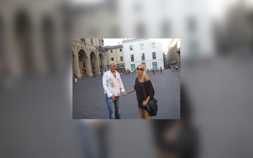 Nijolė Pareigytė ir Egmontas Bžeskas