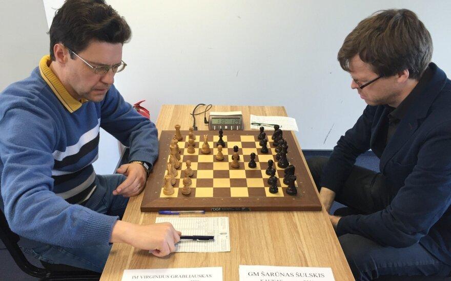 Virginijus Grabliauskas ir Šarūnas Šulskis