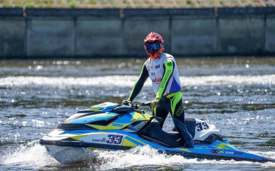 Net trys lietuviai startuos Pasaulio vandens motociklų čempionate