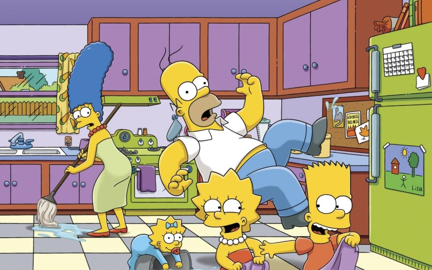 """Serialo """"Simpsonai"""" keistenybės: kūrėjai geltonų žmogeliukų pasaulyje paslėpė ne tik daugybę mįslių"""