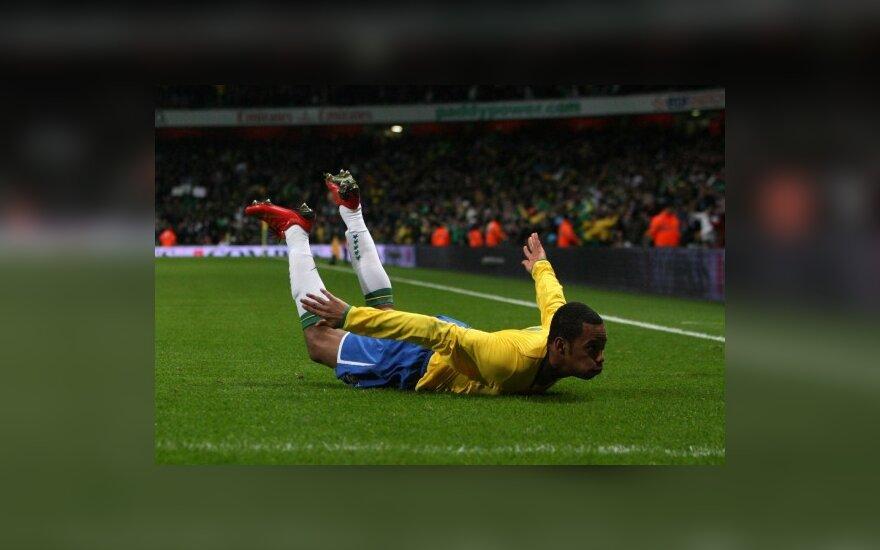 Brazilija 2:0 nutraukė Italijos rinktinės stratego nepralaimėtų mačų seriją