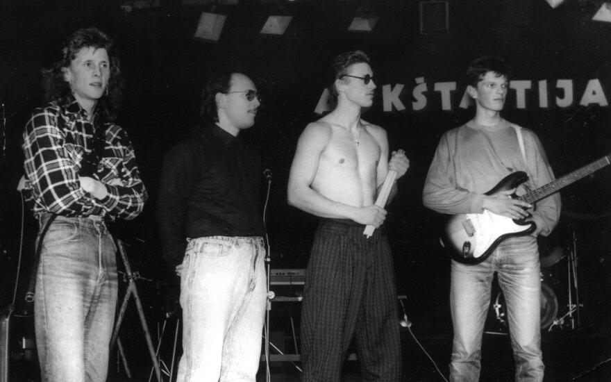"""Grupė """"Siela"""" 1992 metais"""