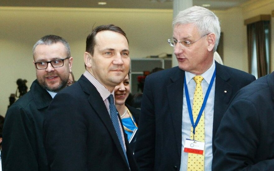 Radoslaw Sikorski and Carl Bildt