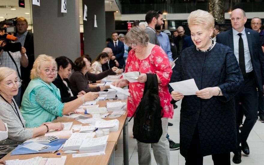 Grybauskaitė: Lietuvos žmonėms pasisekė