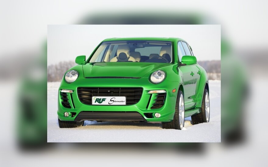 Porsche Cayenne-Stormster