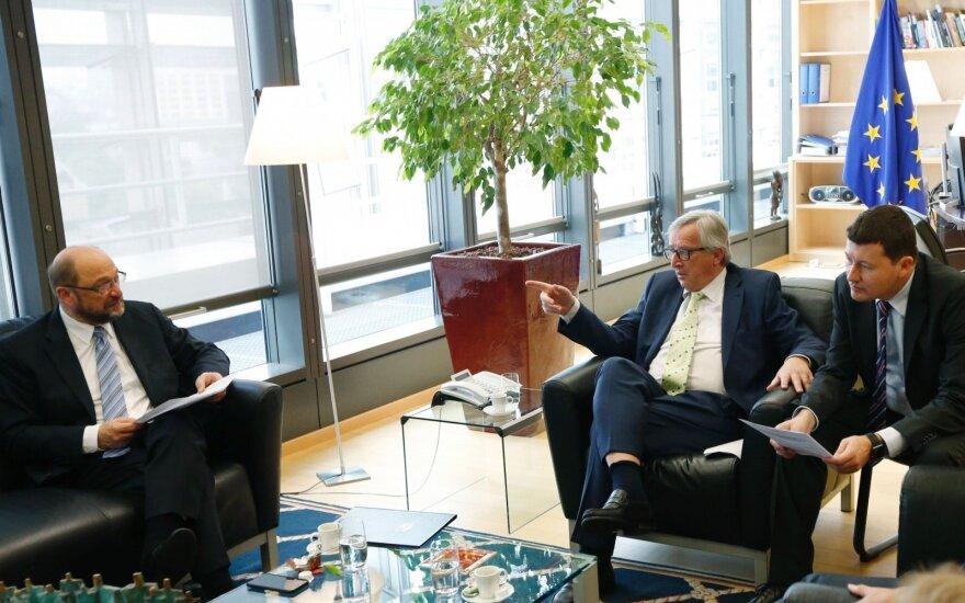 Martinas Selmayras (dešinėje)