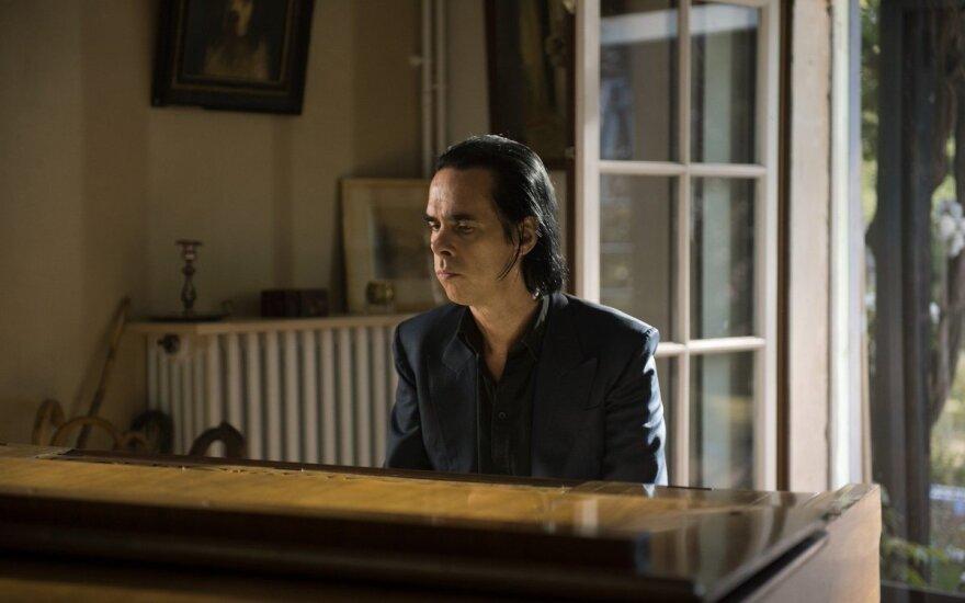 """Nick Cave, kadras iš filmo """"Gražiosios Aranchueso dienos"""""""