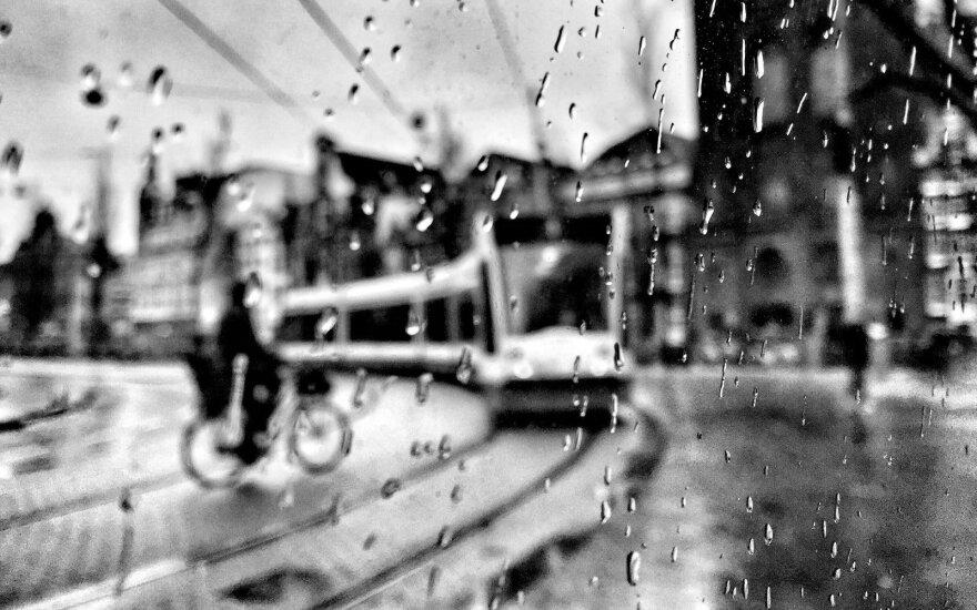 Lietaus istorija. Amsterdamas, Olandija, 2015. iPhone 6 © Ričardo Jarmalavičiaus nuotr.