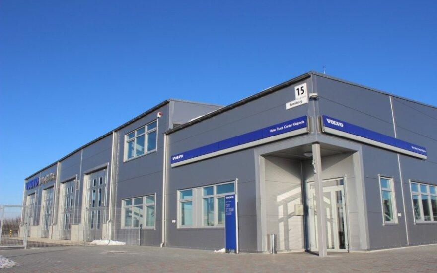 Volvo Trucks centras prie Klaipėdos