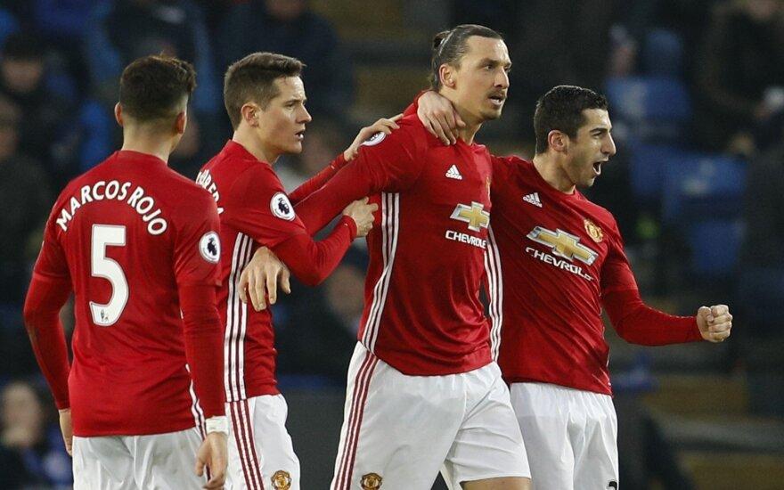 """Zlatanas Ibrahimovičius ir """"Manchester United"""""""