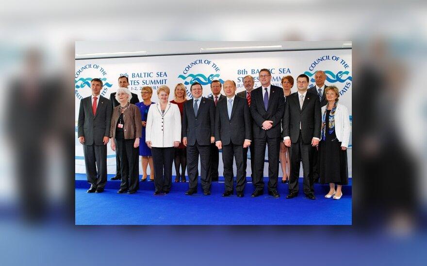 Baltijos jūrą supančios šalys įsipareigojo iki 2020 m. regioną paversti rojumi