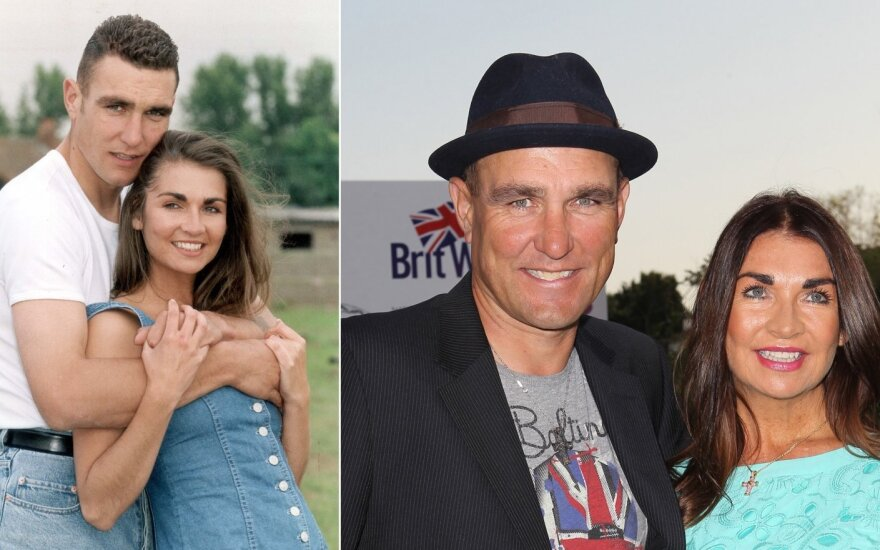 Vinnie Jones ir jo žmona Tanya