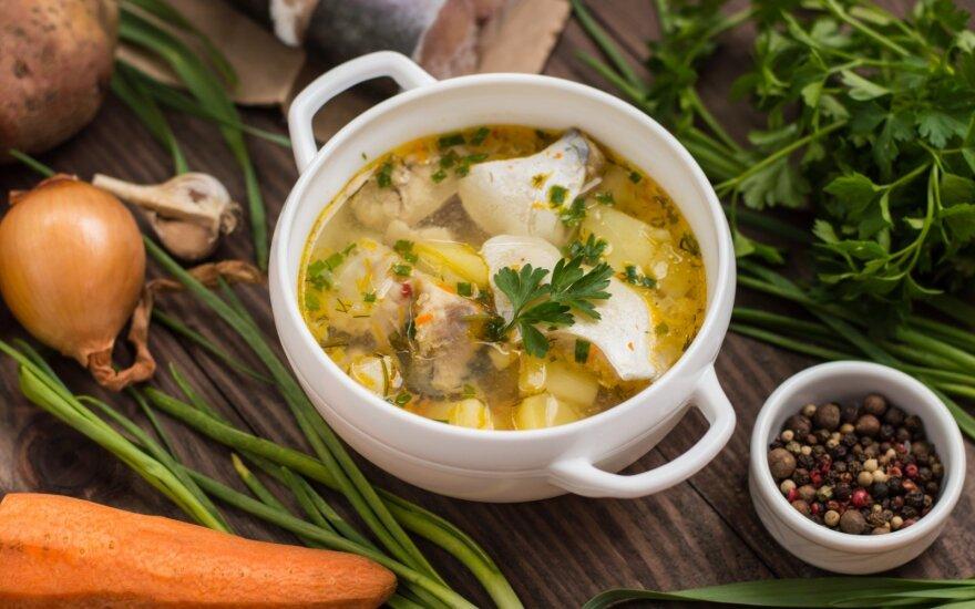 Valgyk sveikai: pagiriamasis žodis žuvienei