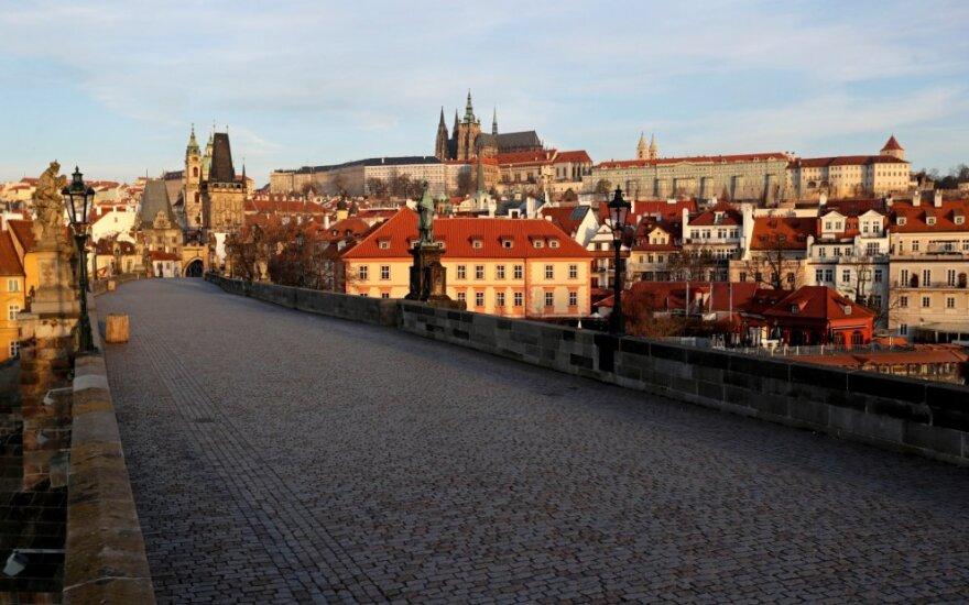 Koronaviruso ištuštinta Praha