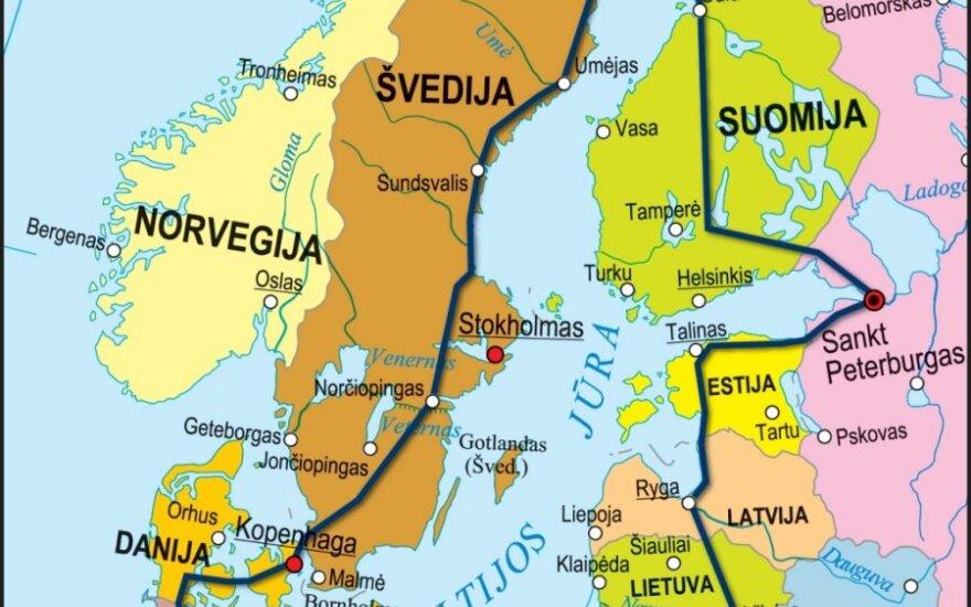"""Akcija """"Aplink Baltijos jūrą"""""""