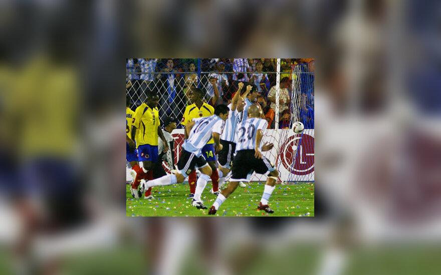 Argentinos rinktinės futbolininkai