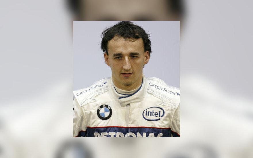 """Robertas Kubica (""""BMW-Sauber"""")"""