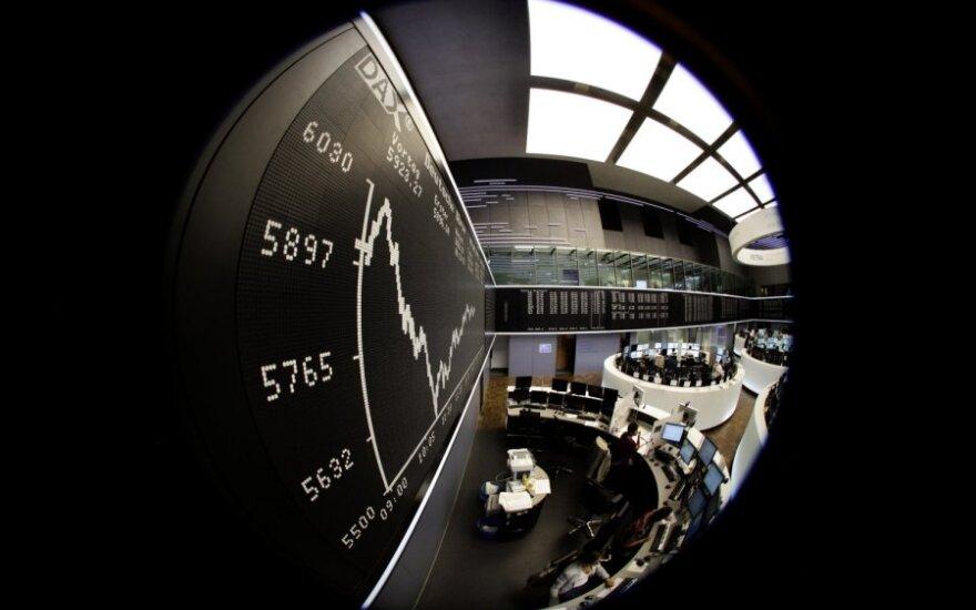 Sustiprėjusi mažmeninė prekyba Vokietijoje pakėlė visos Europos akcijas
