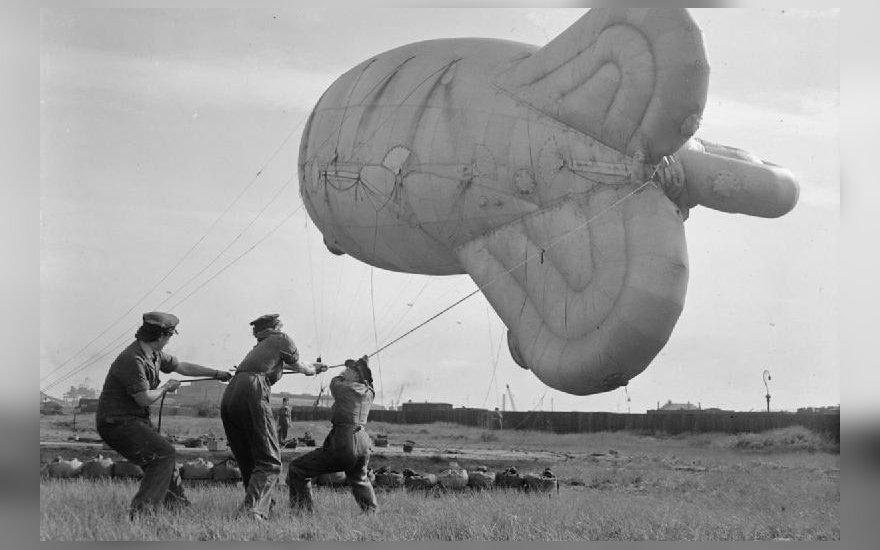 Vienas iš britų oro balionų