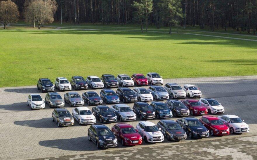 Metų automobilis 2014 dalyviai