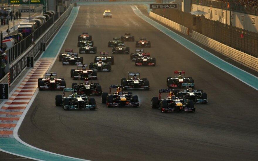 """""""Formulės-1"""" lenktynių Abu Dabio etapas"""
